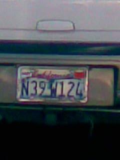 License Plate - Latitude and Longitude