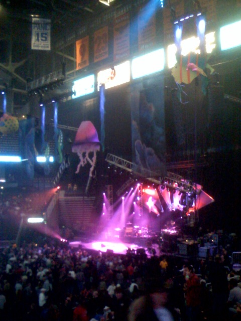 Widespread Panic Stage NYE 2007